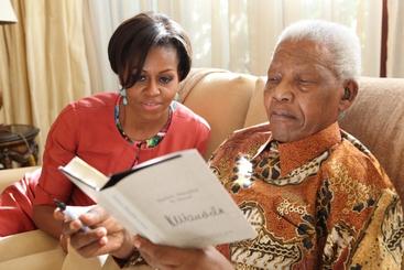 Mandela: Obama, piu' coraggioso su terra