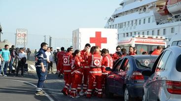 Immigrazione: fregata Grecale a Catania