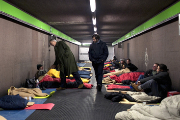 Caritas, a Milano +21,3% di clochard