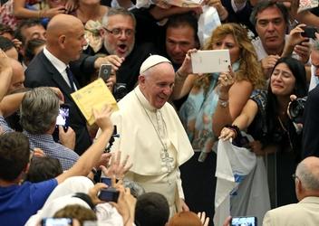 Soprano Cerboncini canta per il Papa