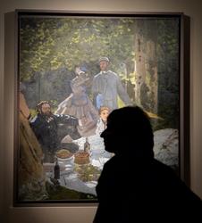 Allestimento capolavori Monet a Torino