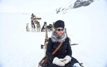 Binoche, divento umana tra i ghiacci