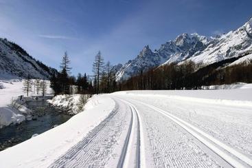Sci, apre pista fondo Val Ferret
