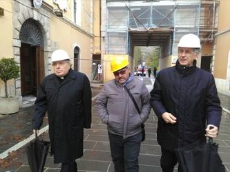 Ex vescovo Fontana, coraggio Norcia