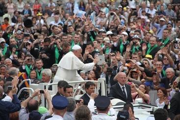 Seimila pellegrini dall' Umbria a Roma