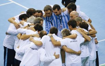 Coppa Davis,ßfinale Belgio-Gb a Gand