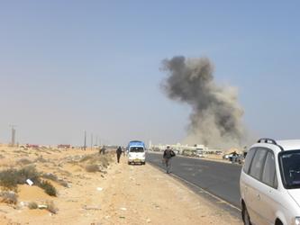 Libia: autobomba ad Ajdabiya, 3 feriti