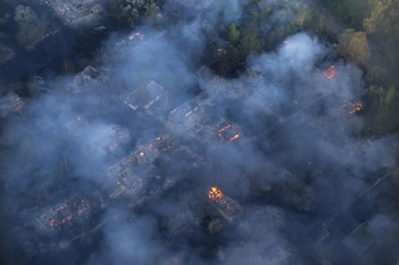 Chernobyl: Greenpeace, da incendi rischio radioattività alta