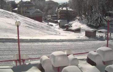 Primi fiocchi neve sul Terminillo