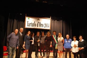 Tartufo d'oro a Anna Falchi e Canzian