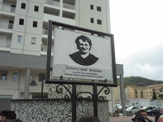 Cosenza: piazza intitolata a Bergamini