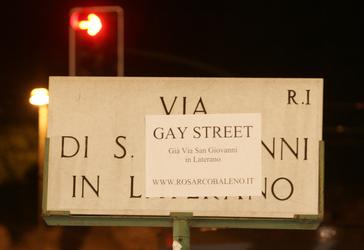 Roma, aggressione nella Gay Street