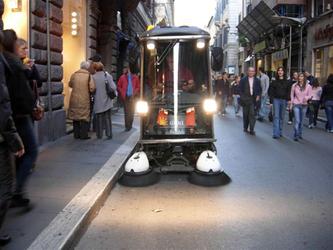 100 nuovi veicoli per pulire strade