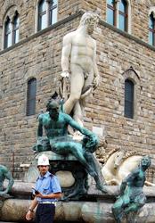 Fontana Nettuno Firenze sarà restaurata