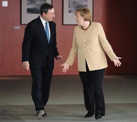 Ue: Merkel, stimo molto lavoro Draghi