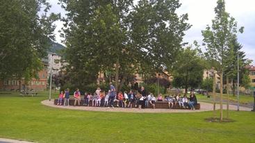 Nuovo parco in ex Duca d'Aosta a Trento