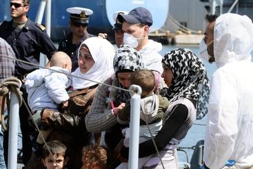 Immigrazione:a Palermo sbarcati in 548