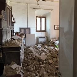 Terremoto, D'Alfonso nel Teramano
