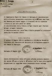 Salorno toglie cittadinanza a Mussolini