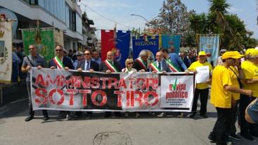 Duecento sindaci in marcia per legalità