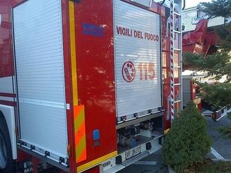 Incendi: fiamme in azienda Rivignano, ipotesi dolo