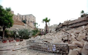 Forte esplosione nel centro di Aleppo