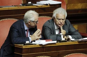 """Verdini-Modugno, """"la maggioranza sai.."""""""