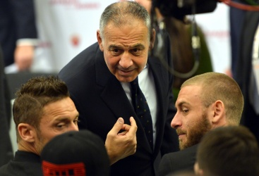 """Pallotta: """"Parlo solo con Totti"""""""