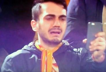 """Totti, il tifoso in lacrime: """"Sindrome di Stendhal"""""""