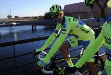 Ruta del Sol, Alberto Contador è già leader
