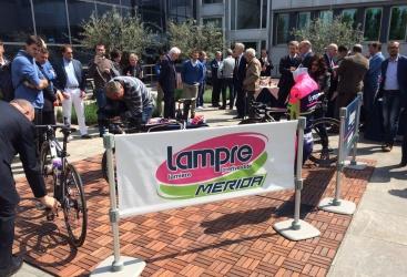 La Lampre-Merida presenta i gioielli per il Giro