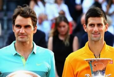 Federer: dritto e rovescio a Nole, lite con Becker