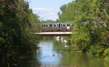 Chicago River Brown Line 060820