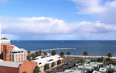 Bay View from Port Melbourne