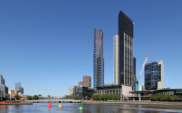 Eureka Tower in South Bank