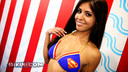 It's a bird. It's a plane. It's a Superman bikini!