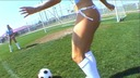 Bionde vs More la finale    Bikini.com Football Girls