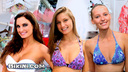 Whose bikini do you like best    Heather, Reed or Katerina's?