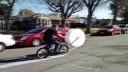 La bicicletta scoppia-bolle