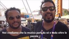 Expo Colombia: intervista alla band Herencia de Timbiquì