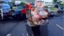 Alabama: l'agente consola la piccola
