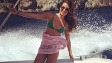 Lea Michele, scatti osè ad Amalfi