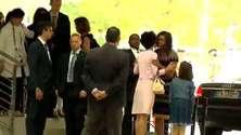 Michelle Obama in visita ad Expo Milano 2015