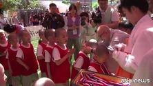 A Seoul sfida di calcio tra piccoli futuri monaci buddhisti