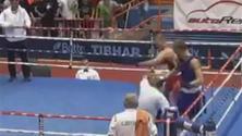 Pazzia sul ring, pugile perde e massacra l'arbitro