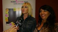 Paola Barale al Roma Fiction Fest presenta Canciones