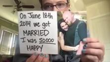 Sposa l'uomo della sua vita, ma fa una tremenda scoperta