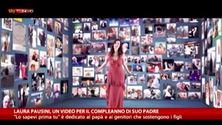 Il video di Laura Pausini dedicato a lui