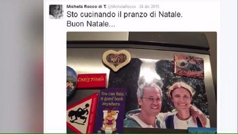 Michela Rocco di Torrepadula, l'amaro tweet natalizio