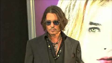 Johnny Depp e Michelle Pfeiffer alla prima mondiale di Dark Shadows
